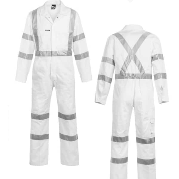 wc3254 workwear hi vis coverall
