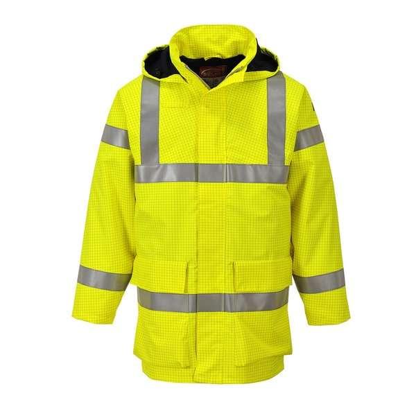 S774Y Bizflame Rain Hi Vis Multi Lite Jacket